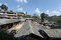 石板建筑村