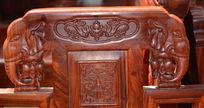 象形浮雕太师椅