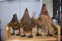 竹根制母鸡