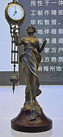 法国女神座钟
