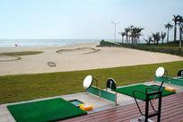 海陵岛沙滩高尔夫球场