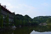 广州帽峰山森林公园铜锣湾水库