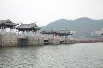 古建筑群广济桥建筑摄影