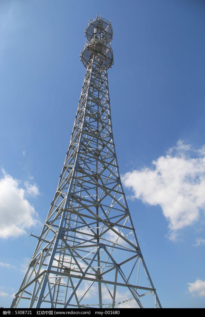 材高清大图电信塔-工业图片素材高清大图图片