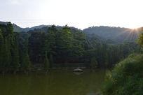 帽峰山景致