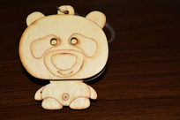 小熊钥匙扣