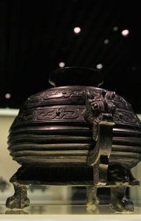 青铜紫香炉