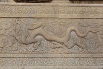 天安门前华表围栏上的飞龙雕刻