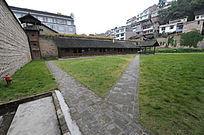 镇远日军战俘营草坪
