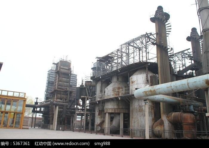 北京798创意产业区废弃工厂