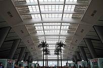 北京南站火车站候车大厅