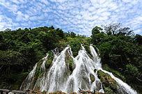贵州小七孔瀑布