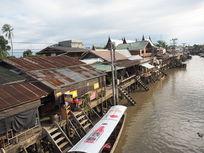 曼谷水上市场