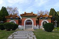 云南世博园里的中国展馆全景
