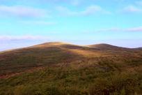张北草原天路上的风景