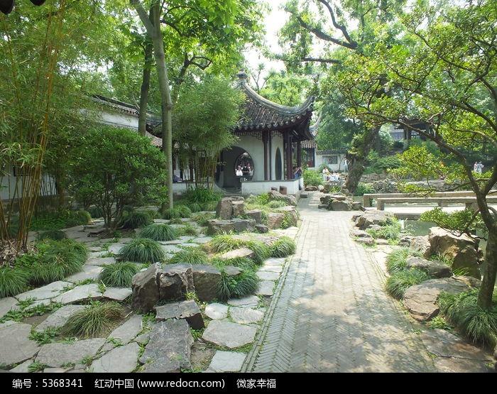 拙政园园林景观图片
