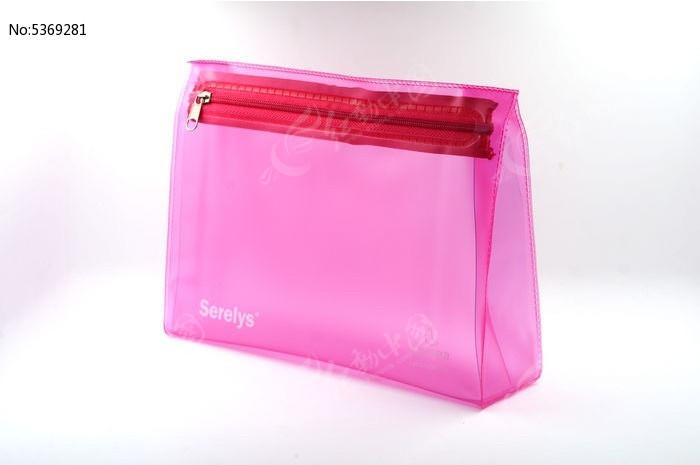 粉色女生文具包图片