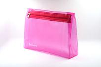 粉色女生文具包