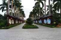 金花茶文化长廊