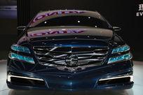 北京车展上的新产品汽车