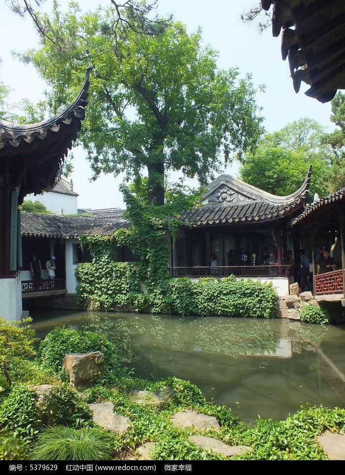 中式亭子图片