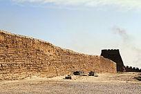 斑驳的嘉峪关古长城