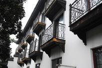 中西结合式阳台