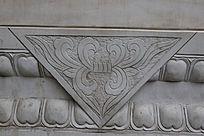 古代几何图案雕刻