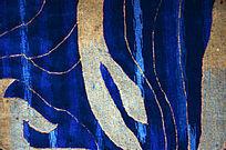 海蓝色宴会厅高档地毯