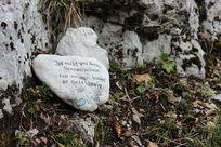 哈施塔特山上石块