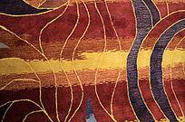 客厅花纹地毯