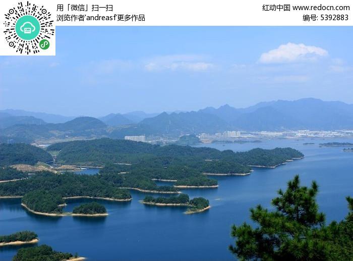 千岛湖东南湖区东面