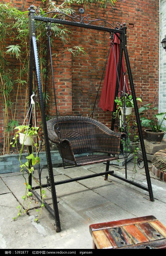 摇椅图片,高清大图_园林景观素材