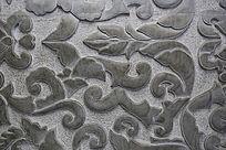 中国传统花卉图案雕刻