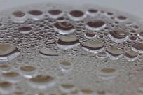 玻璃茶壶蒸汽水珠