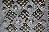 陶博馆展品汉代砖雕方块图案