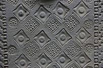 陶博馆展品汉代砖雕花纹图案
