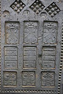 陶博馆展品汉代砖雕图案