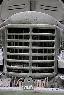 军博展品国产火箭布雷车车头