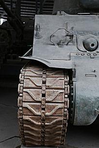军博展品美国造坦克链条