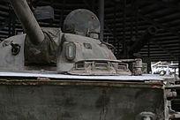 军博展品美国造坦克炮塔