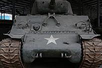 军博展品美国造坦克正面