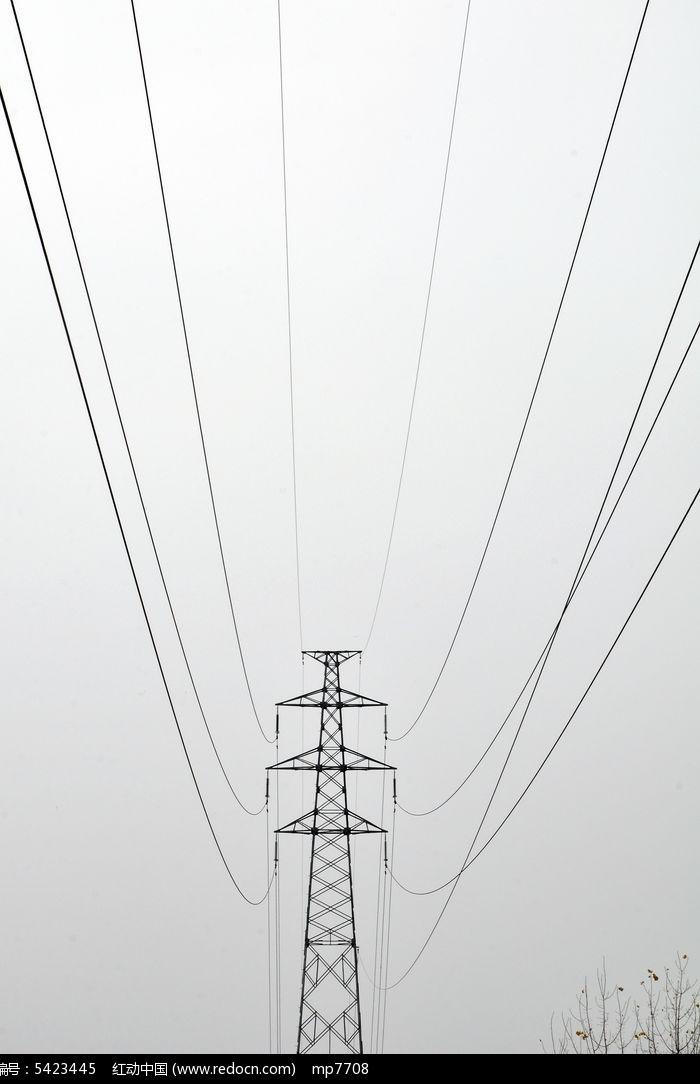 高压电网图片
