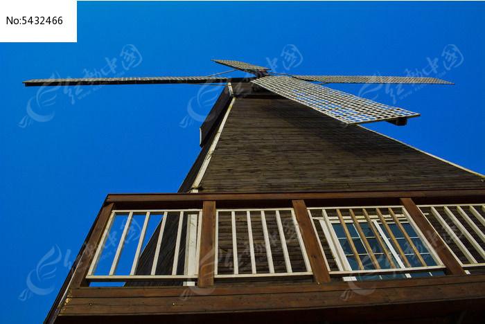 农场风车图片,高清大图