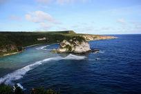 塞班海岸线岛屿