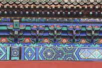 天坛的古典花纹边框