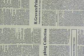 英文报纸纸张纹理背景素材