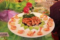 水仙茶焗虾