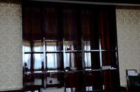 公司前台接待形象背景墙装修