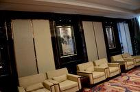 酒店贵宾会议室一角